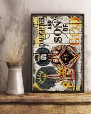 God - Afro - King And Queen - Poster 16x24 Poster lifestyle-poster-3