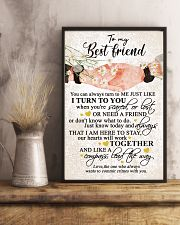 TO MY BEST FRIEND 16x24 Poster lifestyle-poster-3