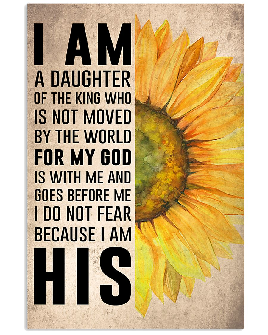 I Am A Daughter Of The King 16x24 Poster