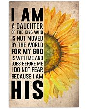 I Am A Daughter Of The King 16x24 Poster front