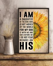 I Am A Daughter Of The King 16x24 Poster lifestyle-poster-3