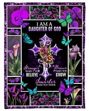 God - Daughter Of God - Fleece Blanket Fleece Blanket tile