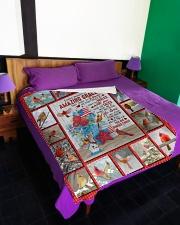 """God - Us Flag - Quilt Bed Set Large Fleece Blanket - 60"""" x 80"""" aos-coral-fleece-blanket-60x80-lifestyle-front-01"""