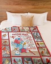 """God - Us Flag - Quilt Bed Set Large Fleece Blanket - 60"""" x 80"""" aos-coral-fleece-blanket-60x80-lifestyle-front-02"""