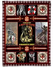"God - The Knights Templar - Fleece Blanket Large Fleece Blanket - 60"" x 80"" front"