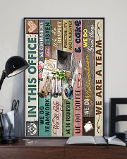 IN THIS OFFICE 16x24 Poster lifestyle-poster-2