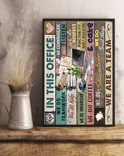 IN THIS OFFICE 16x24 Poster lifestyle-poster-3