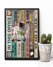 IN THIS OFFICE 16x24 Poster lifestyle-poster-8