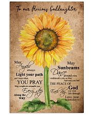 To Our Precious Goddaughter 16x24 Poster front