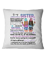 TO MY SOUL SISTER Square Pillowcase thumbnail