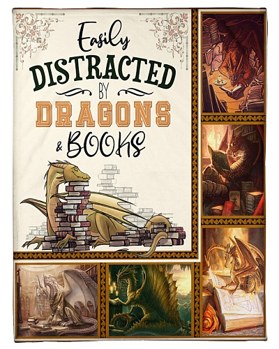 Easily distracted by dragons and book