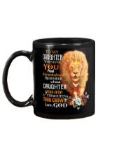 God - Lion - Remember - Mug Mug back
