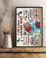 POSTER - GOD - HUMMINGBIRD 16x24 Poster lifestyle-poster-3