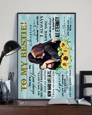 TO MY BESTIE - GIRLS - I ALWAYS LOVE YOU 16x24 Poster lifestyle-poster-2