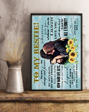 TO MY BESTIE - GIRLS - I ALWAYS LOVE YOU 16x24 Poster lifestyle-poster-3