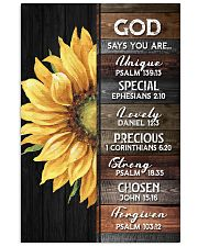 God - Sunflower - Poster 16x24 Poster front