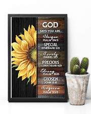 God - Sunflower - Poster 16x24 Poster lifestyle-poster-8