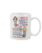 TO MY BESTIE - GIRLS - THANK YOU Mug front