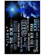 God - Lion - Son Of The King - Poster 16x24 Poster front