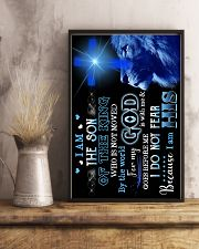 God - Lion - Son Of The King - Poster 16x24 Poster lifestyle-poster-3