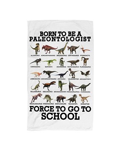 Born to be a paleontologist