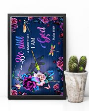 God - Dragonfly - Be still - Poster  16x24 Poster lifestyle-poster-8