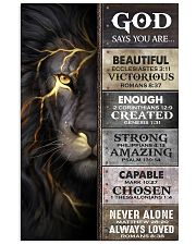 God Says You Are - Poster  16x24 Poster front