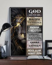 God Says You Are - Poster  16x24 Poster lifestyle-poster-2