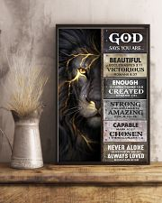God Says You Are - Poster  16x24 Poster lifestyle-poster-3