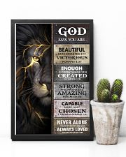 God Says You Are - Poster  16x24 Poster lifestyle-poster-8