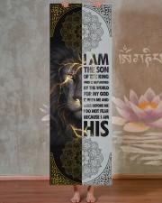 God - Lion - Yoga Mats  Yoga Mat 24x70 (vertical) aos-yoga-mat-lifestyle-29