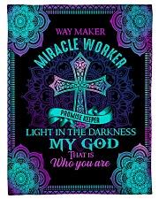 """God - Way Maker - Fleece Blanket Small Fleece Blanket - 30"""" x 40"""" front"""