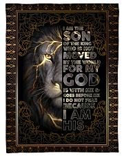FLEECE BLANKET - GOD - LION Fleece Blanket tile