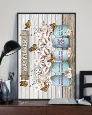 God - Cotton - Way Maker - Poster 16x24 Poster lifestyle-poster-2