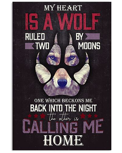 MY HEART IS A WOLF