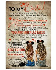 TO MY BEST FRIEND 16x24 Poster front