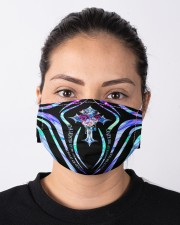 God - Daughter Of The King - Face Mask Cloth face mask aos-face-mask-lifestyle-01