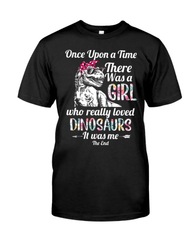 Once upon a time there was a girl