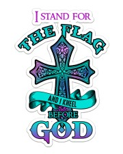 God - Sticker Sticker - Single (Vertical) front