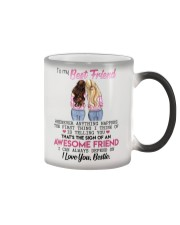 TO MY BEST FRIEND Color Changing Mug thumbnail