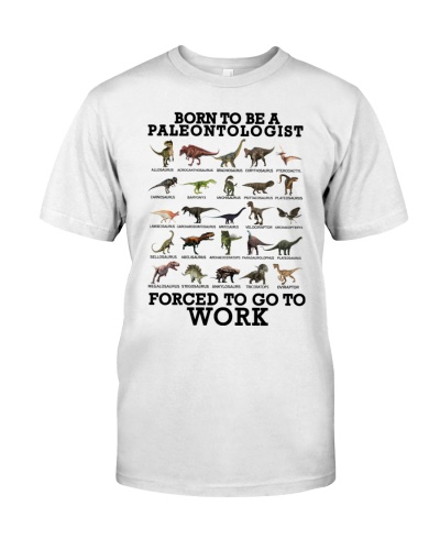 Born to be a paleontologist forced to go to work