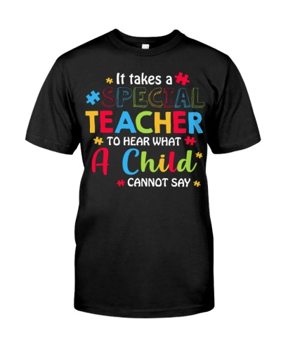It takes a special teacher to hear what a child
