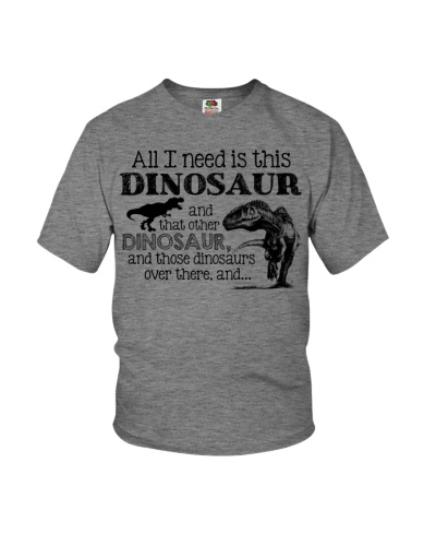 All I need is this dinosaur and that other dinosau