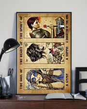 God - Lion - Daughter Of The King - Poster 16x24 Poster lifestyle-poster-2