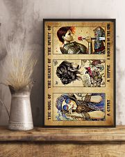 God - Lion - Daughter Of The King - Poster 16x24 Poster lifestyle-poster-3