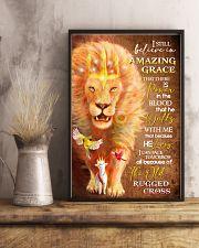 POSTER - GOD - LION - I STILL BELIEVE 16x24 Poster lifestyle-poster-3