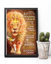 POSTER - GOD - LION - I STILL BELIEVE 16x24 Poster lifestyle-poster-8