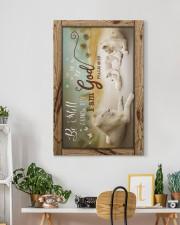 God - Lion - Canvas 20x30 Gallery Wrapped Canvas Prints aos-canvas-pgw-20x30-lifestyle-front-03