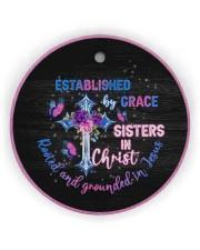 God - Sisters In Christ - Circle Ornament Circle ornament - single (wood) thumbnail