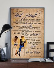 TO MY BEST FRIEND 16x24 Poster lifestyle-poster-2